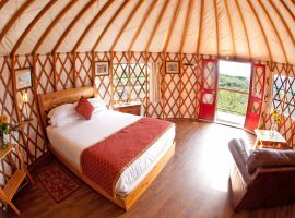 Pandora's Yurt Accommodation – Luxury, Style and Comfort